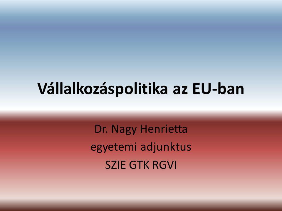 Vállalkozáspolitika az EU-ban