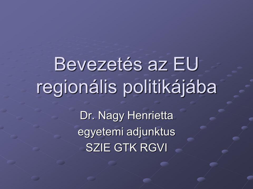 Bevezetés az EU regionális politikájába