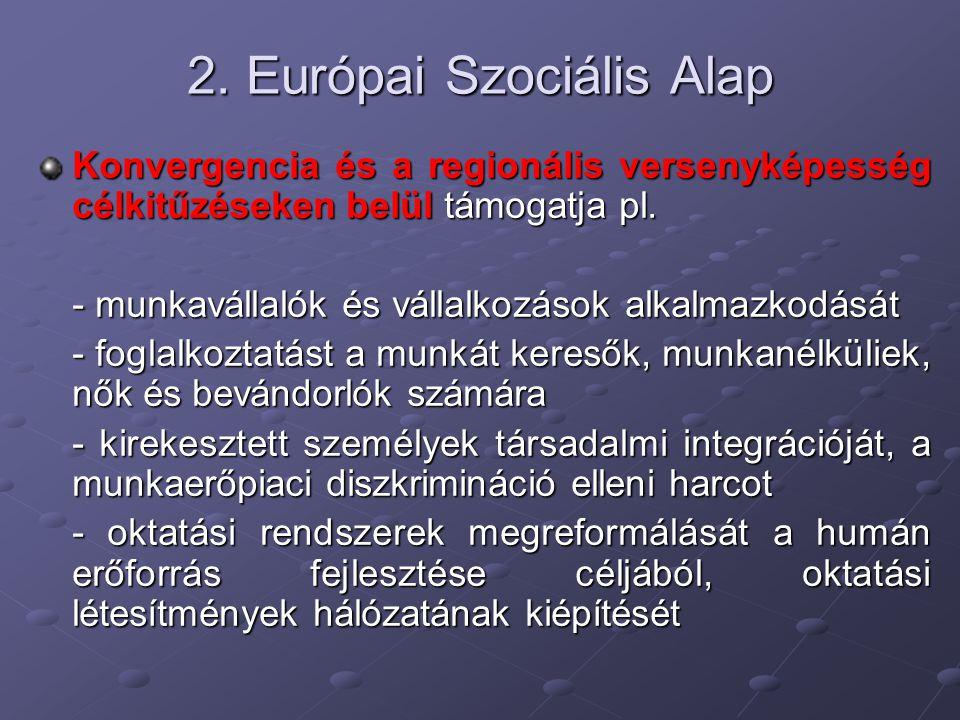 2. Európai Szociális Alap