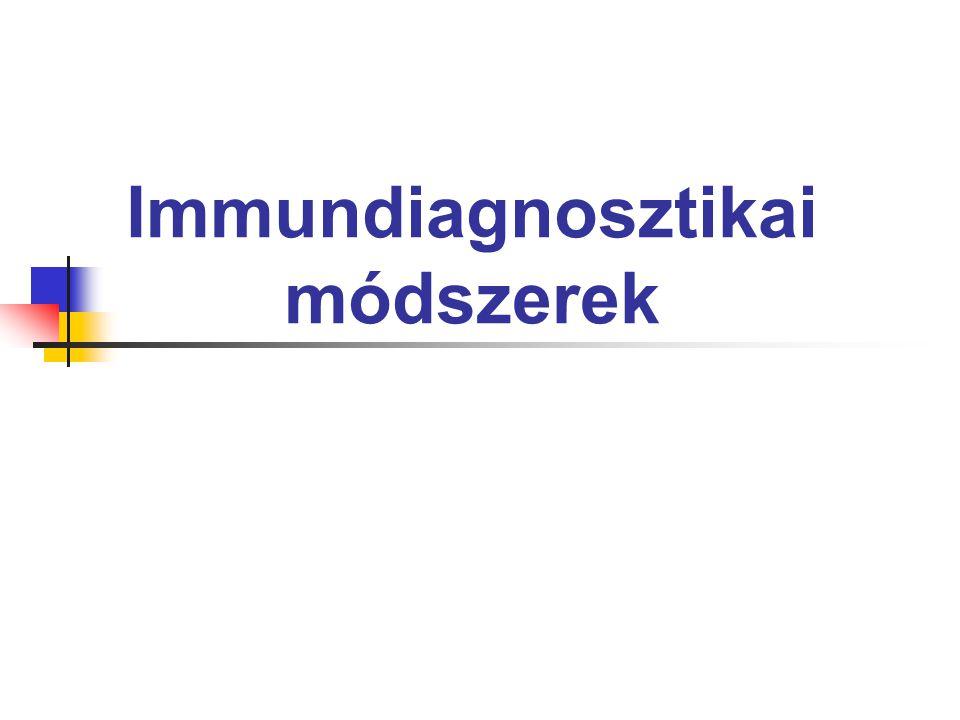 Immundiagnosztikai módszerek