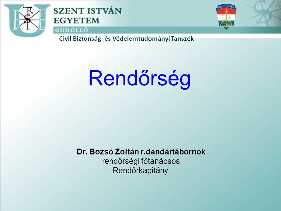 Dr. Bozsó Zoltán r.dandártábornok