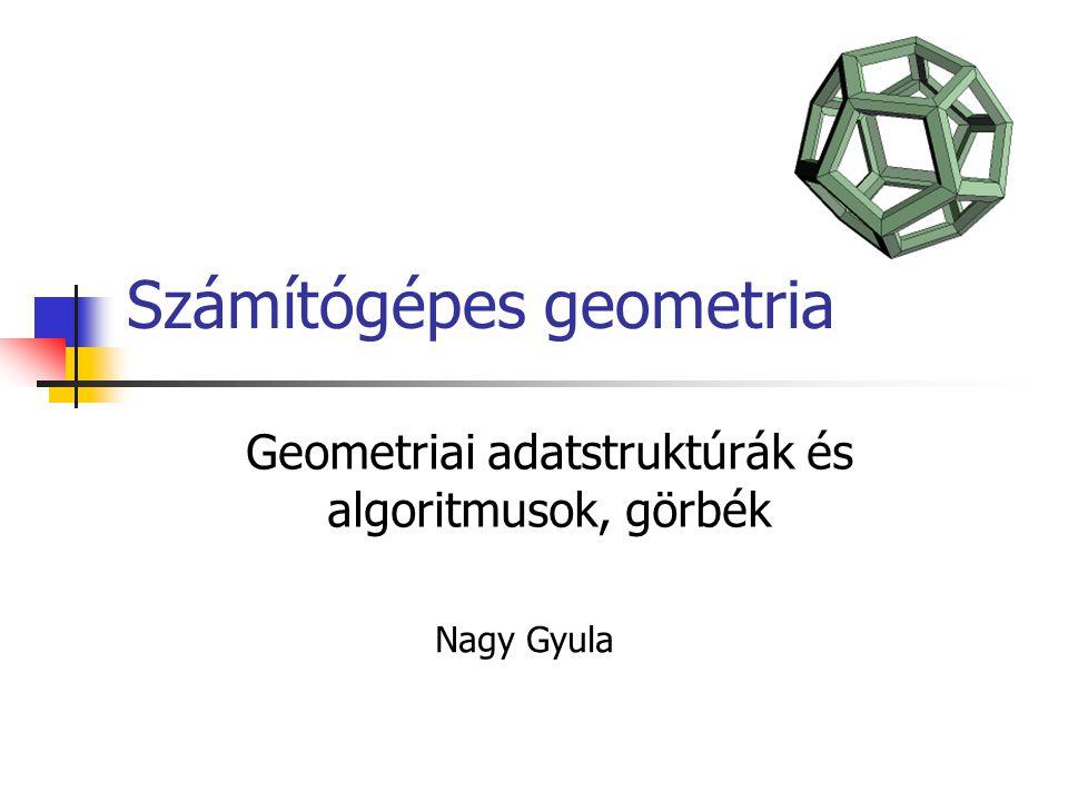 Számítógépes geometria