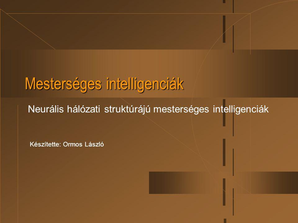 Mesterséges intelligenciák