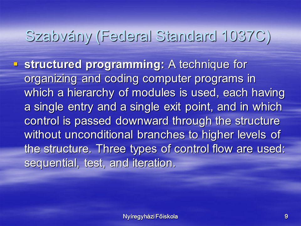 Szabvány (Federal Standard 1037C)