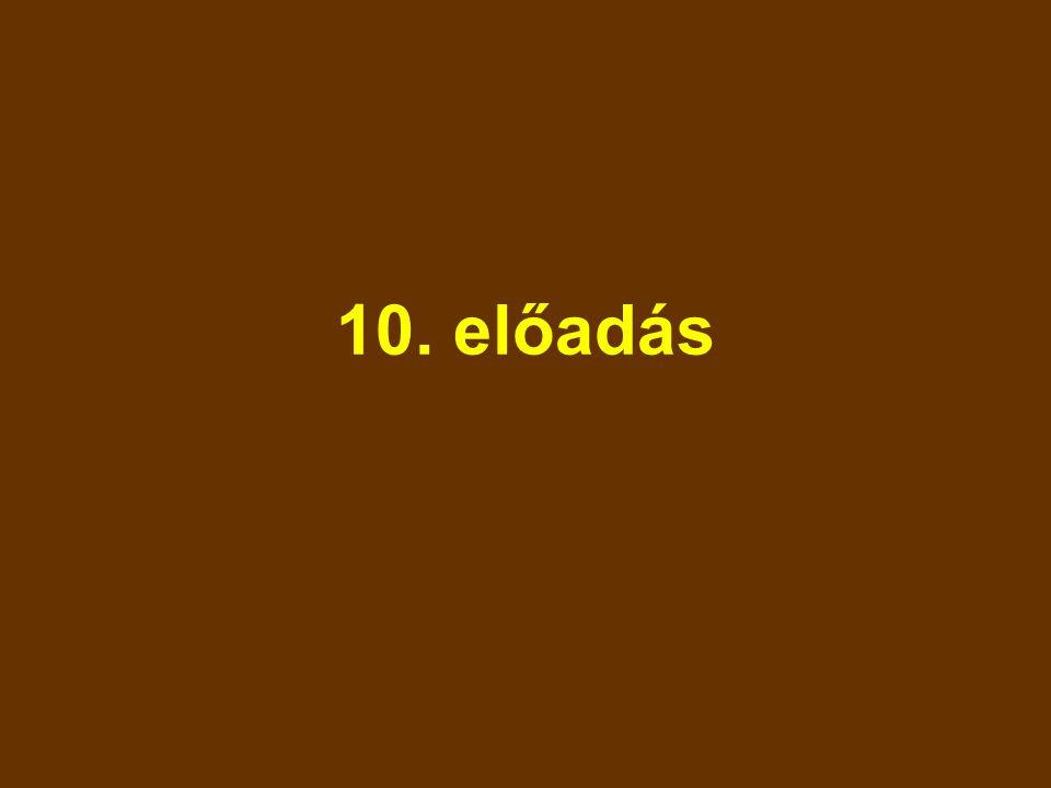 10. előadás