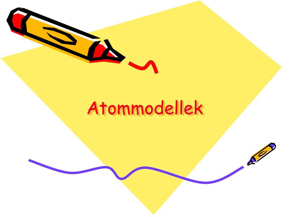 Atommodellek