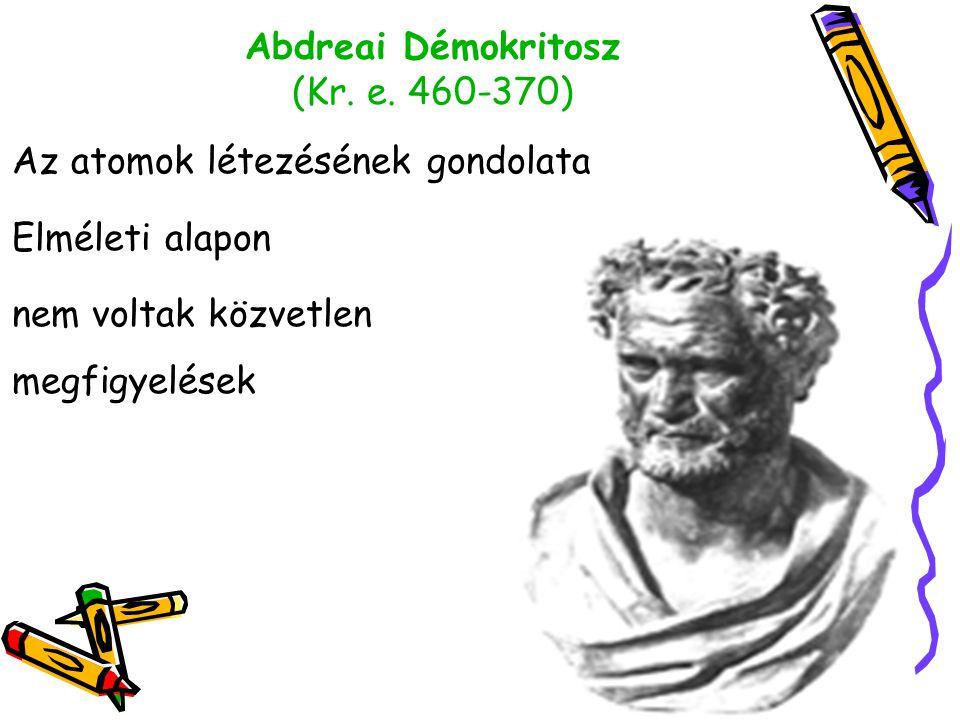 Abdreai Démokritosz (Kr. e. 460-370)