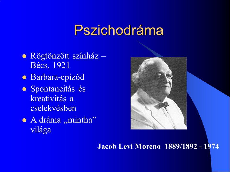 Pszichodráma Rögtönzött színház – Bécs, 1921 Barbara-epizód