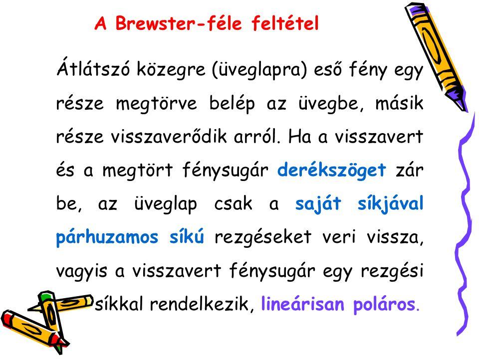 A Brewster-féle feltétel