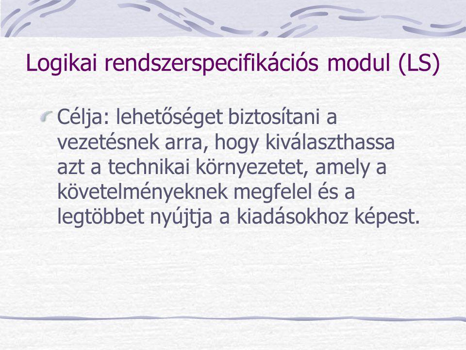 Logikai rendszerspecifikációs modul (LS)