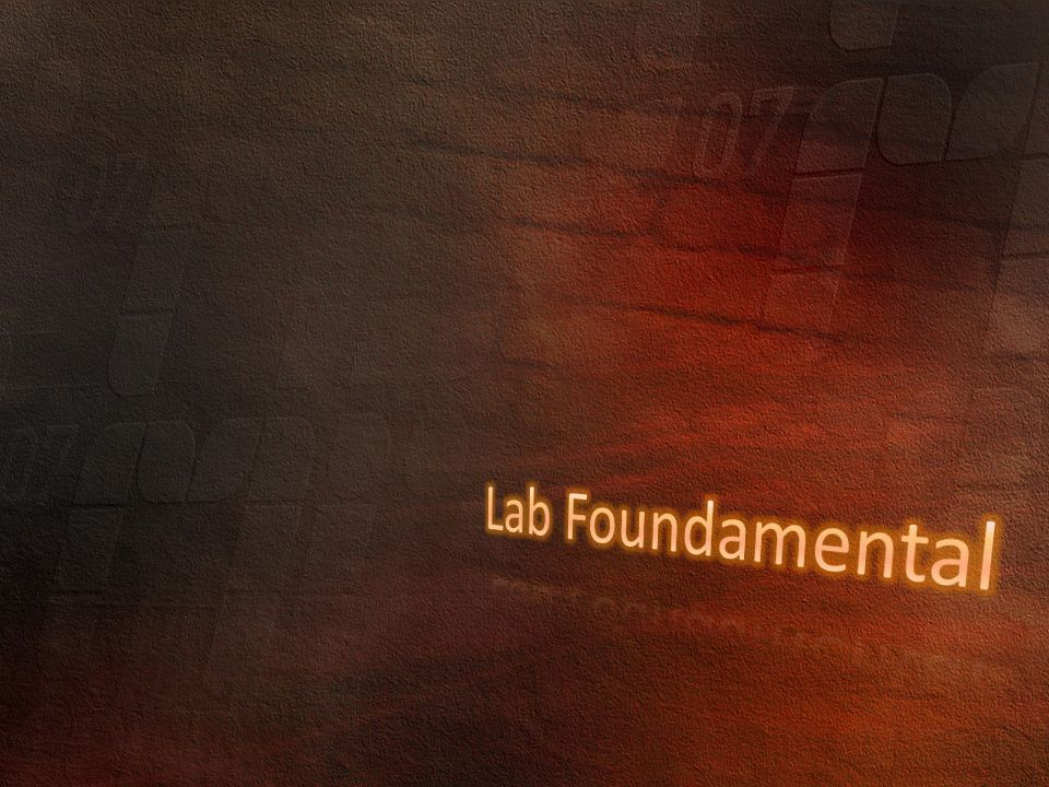 Lab Foundamental