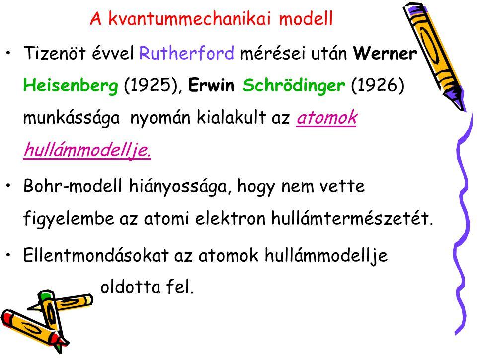 A kvantummechanikai modell