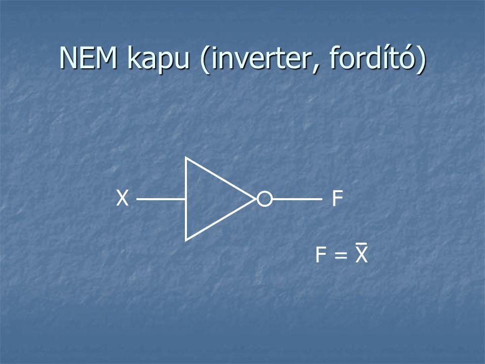 NEM kapu (inverter, fordító)
