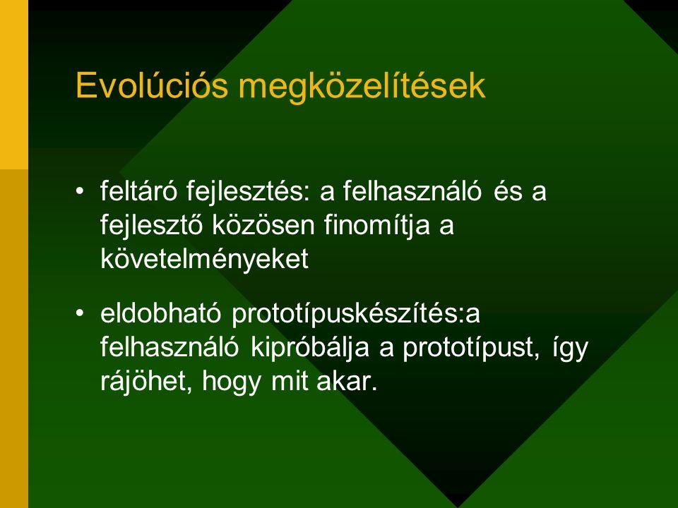 Evolúciós megközelítések