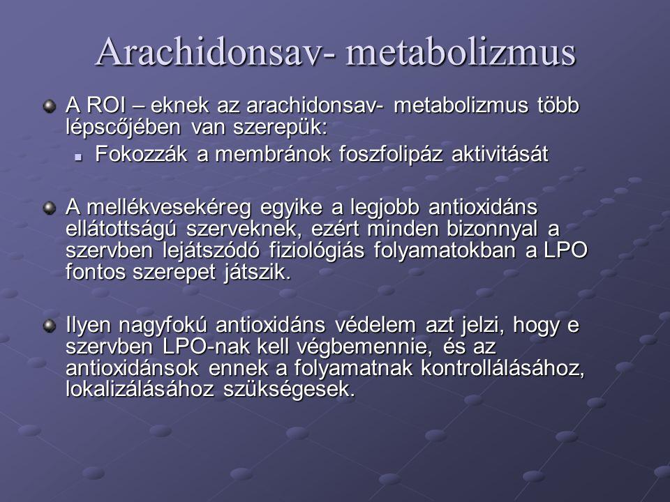 Arachidonsav- metabolizmus