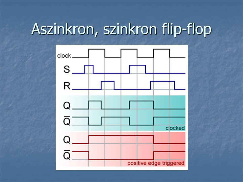 Aszinkron, szinkron flip-flop