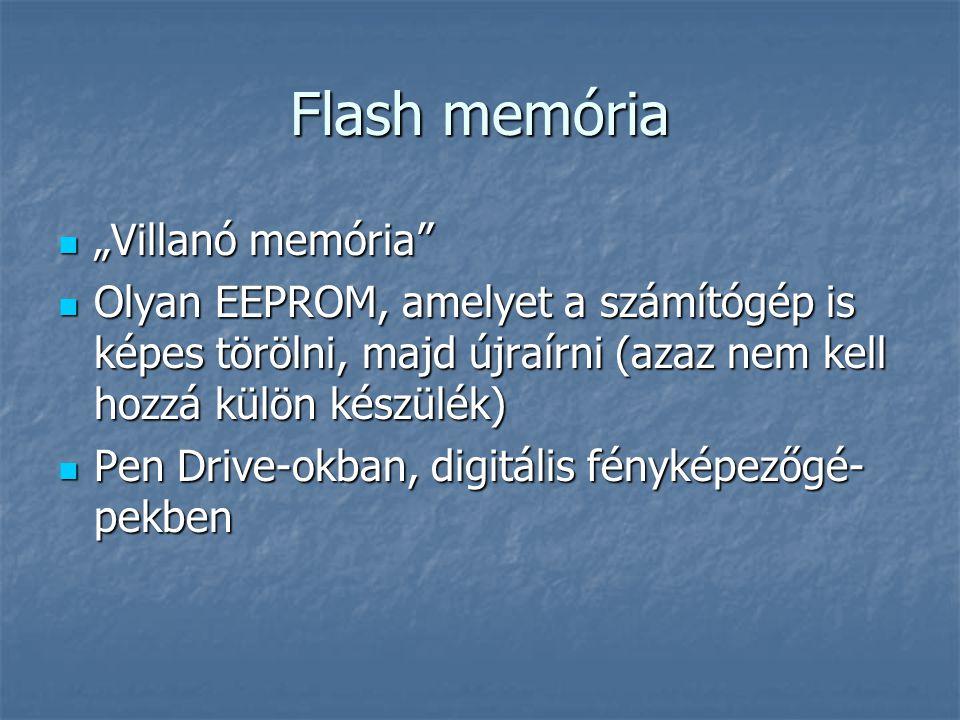 "Flash memória ""Villanó memória"