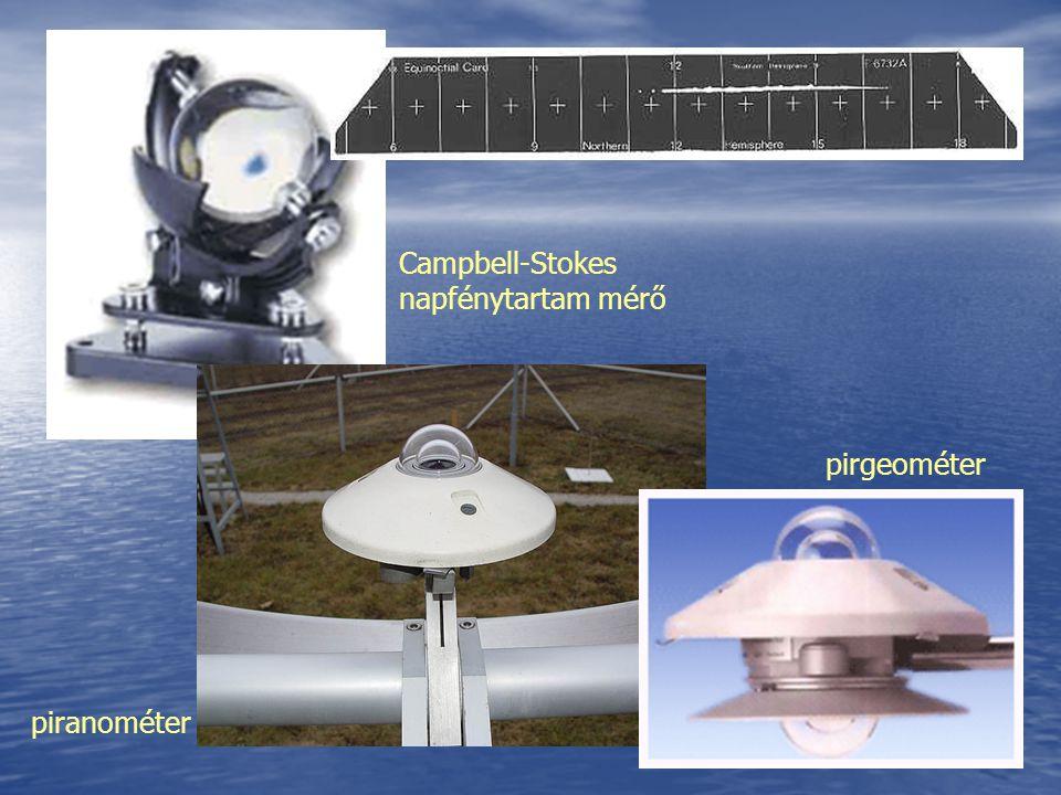 Campbell-Stokes napfénytartam mérő