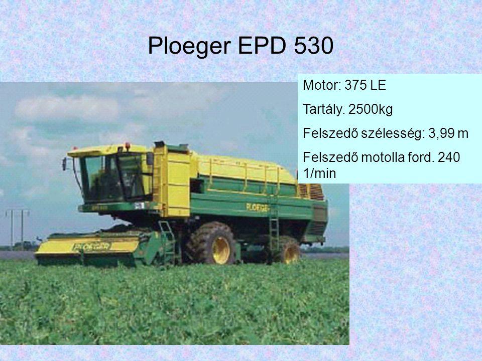 Ploeger EPD 530 Motor: 375 LE Tartály. 2500kg