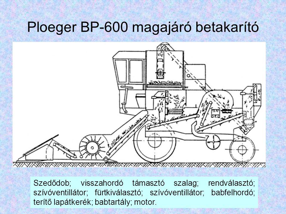 Ploeger BP-600 magajáró betakarító