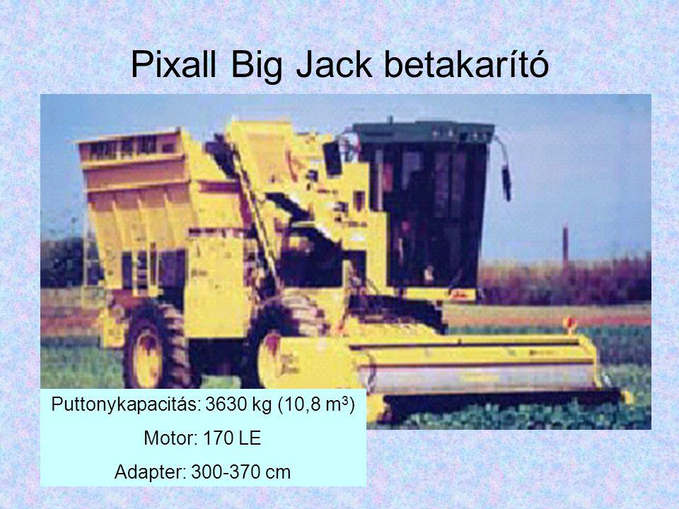 Pixall Big Jack betakarító