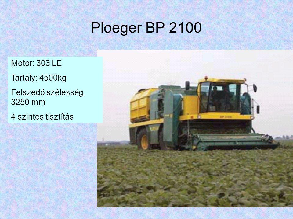 Ploeger BP 2100 Motor: 303 LE Tartály: 4500kg