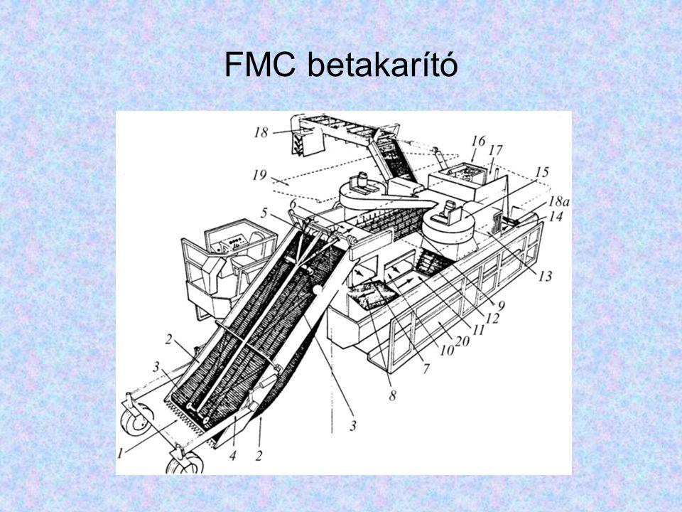 FMC betakarító