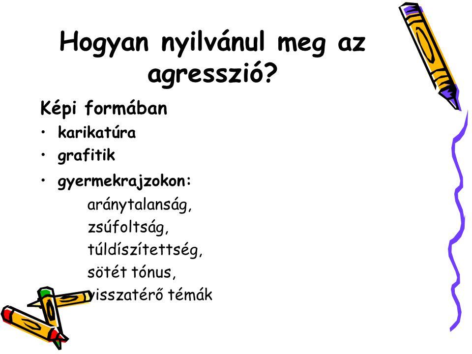 Hogyan nyilvánul meg az agresszió