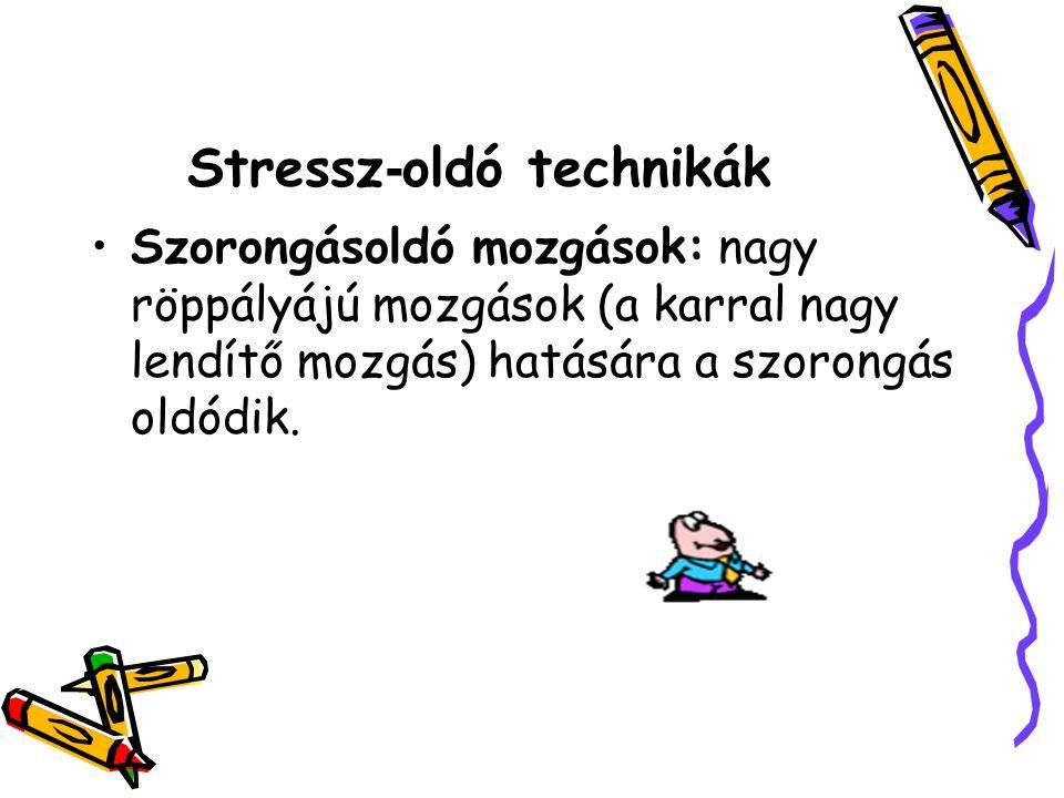 Stressz-oldó technikák