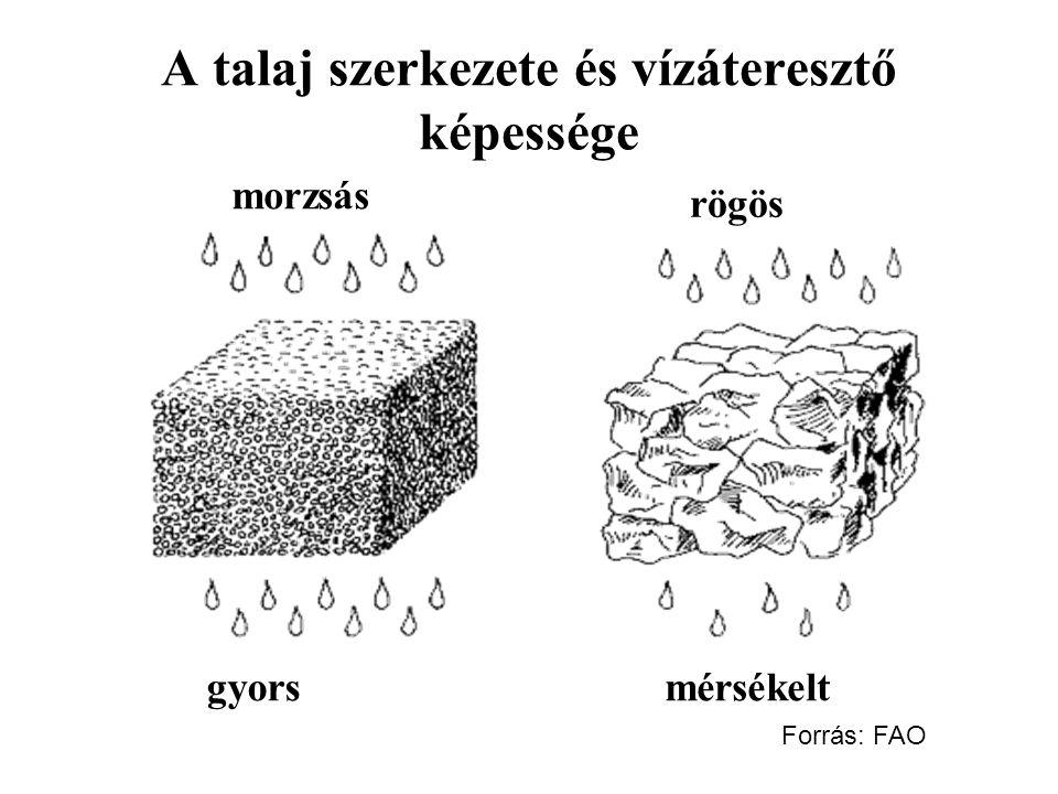 A talaj szerkezete és vízáteresztő képessége