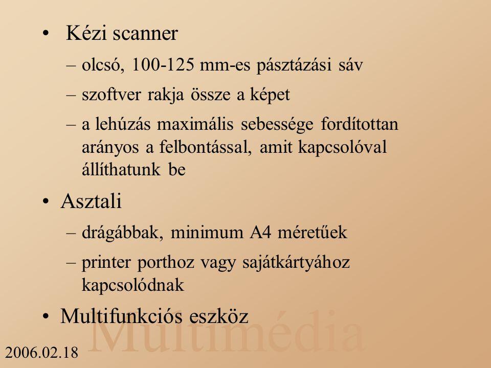 Kézi scanner Asztali Multifunkciós eszköz