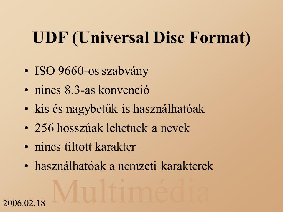 UDF (Universal Disc Format)