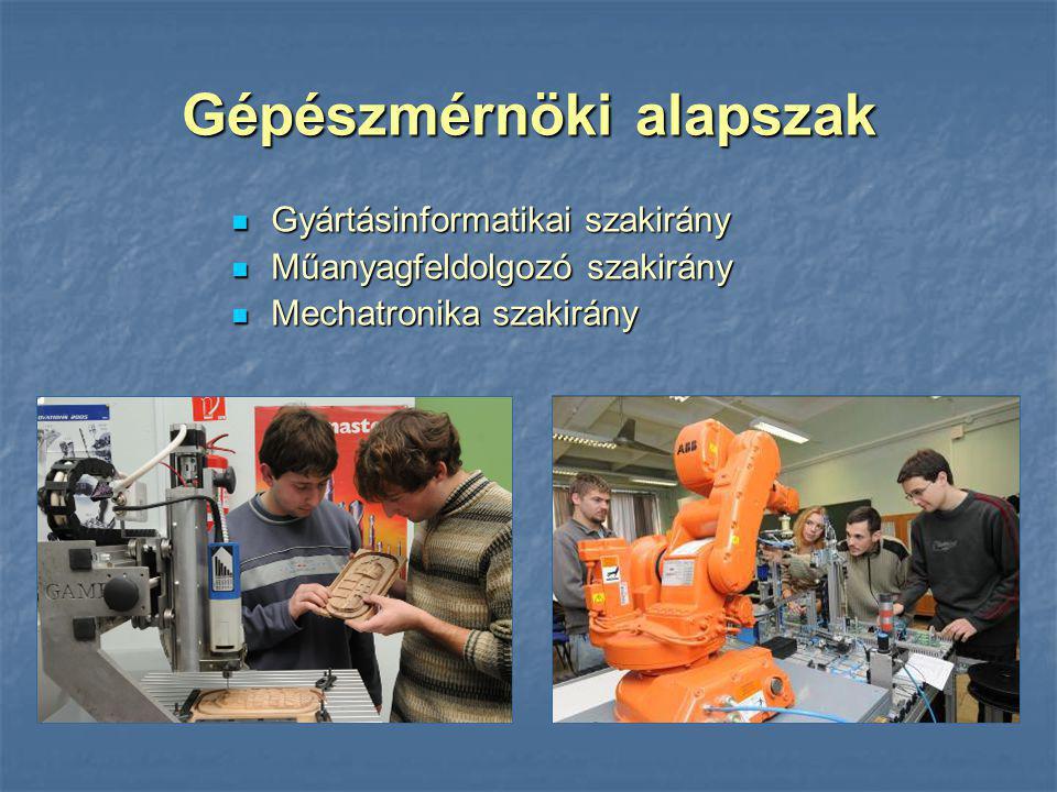 Gépészmérnöki alapszak
