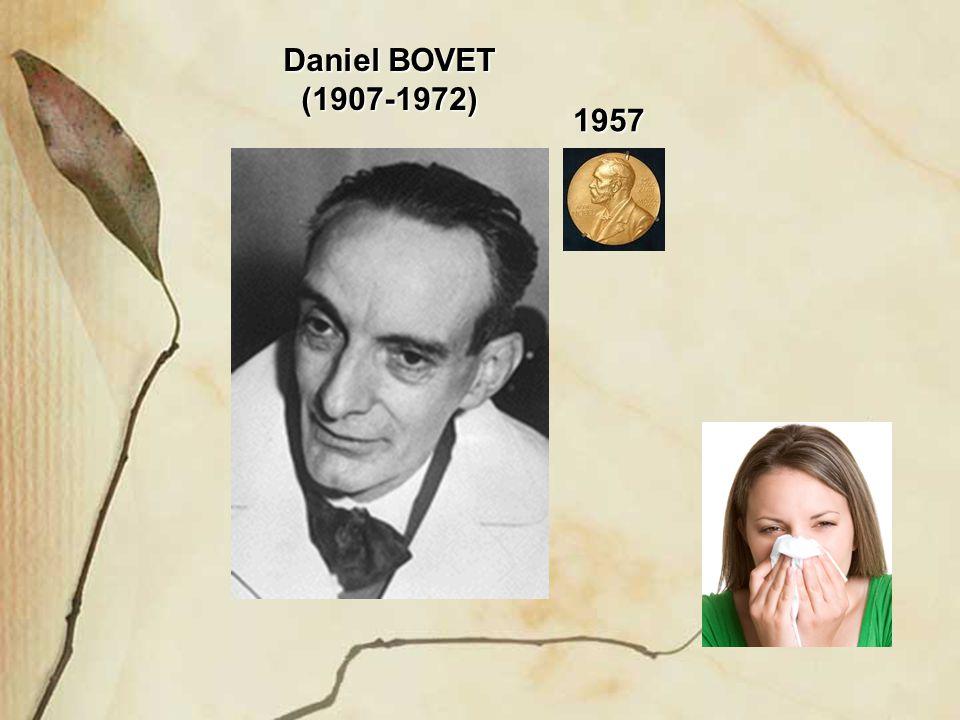 Daniel BOVET (1907-1972) 1957