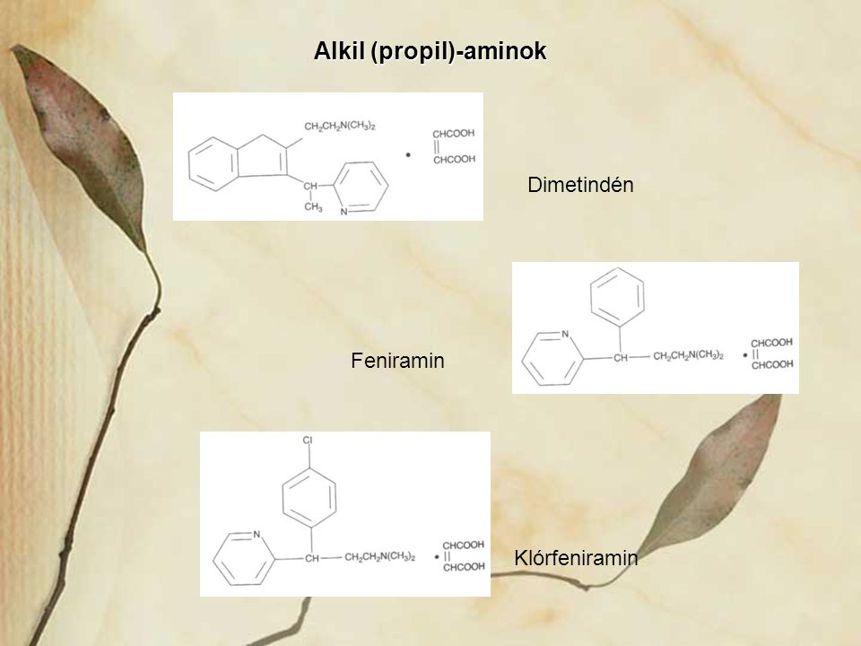 Alkil (propil)-aminok