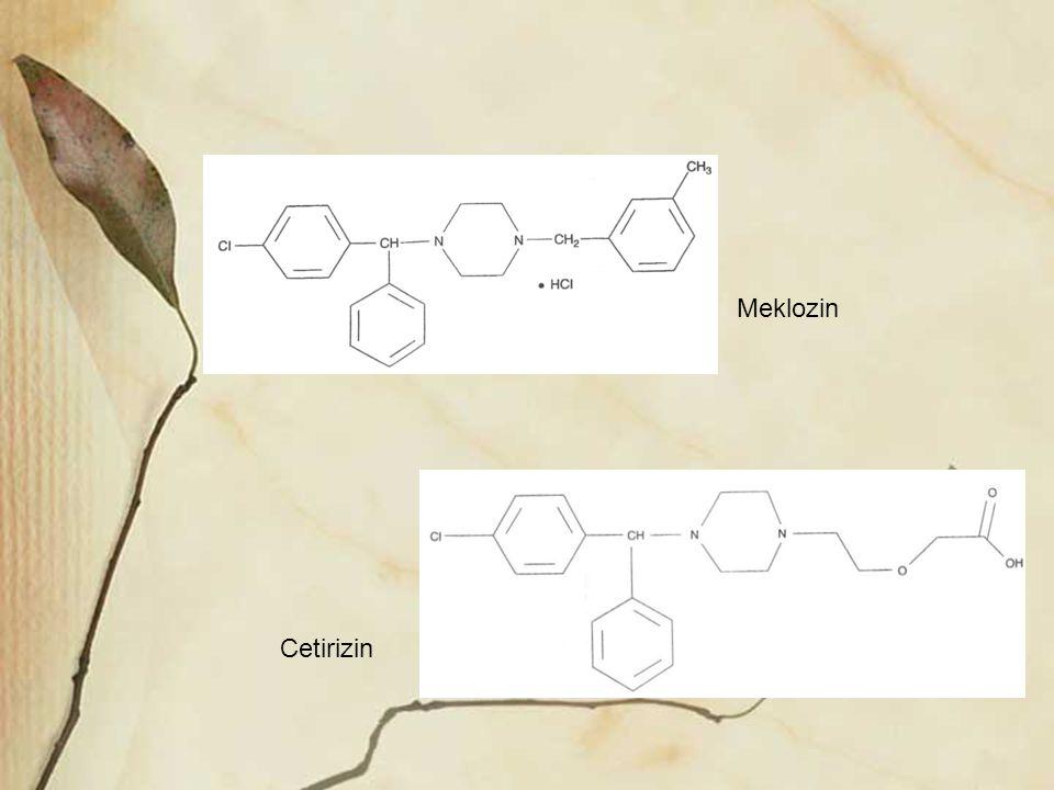 Meklozin Cetirizin