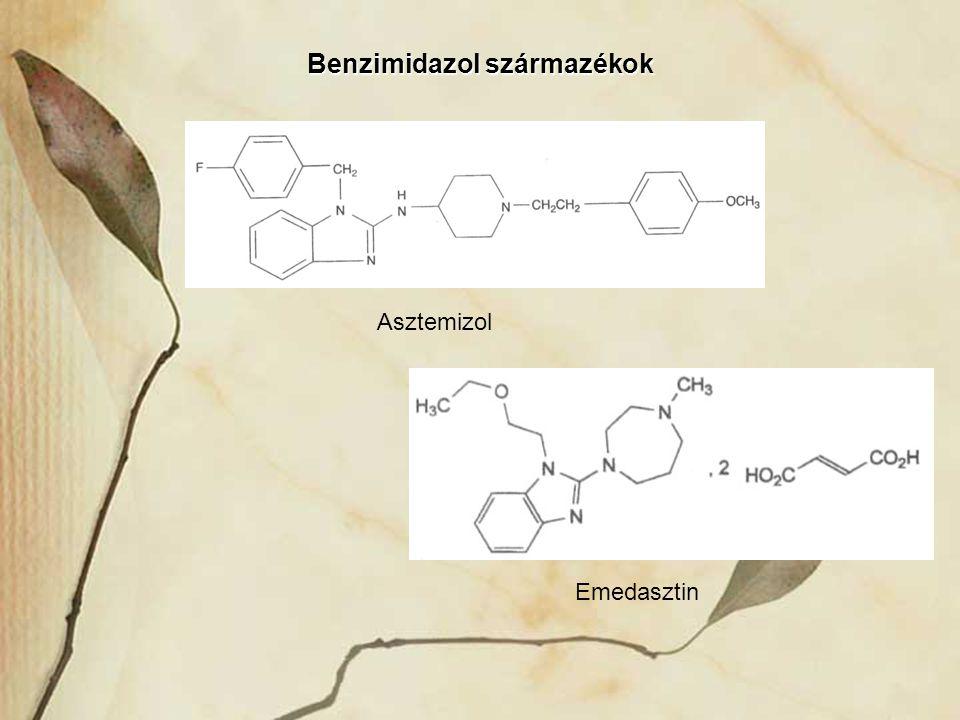 Benzimidazol származékok