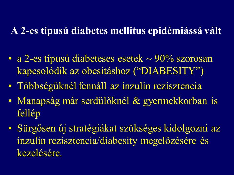 A 2-es típusú diabetes mellitus epidémiássá vált