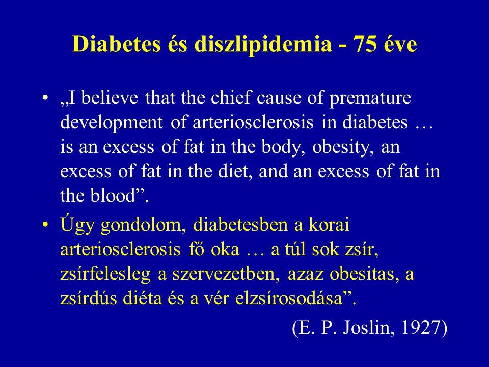 Diabetes és diszlipidemia - 75 éve