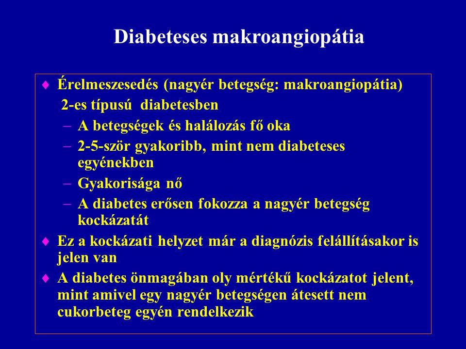 Diabeteses makroangiopátia