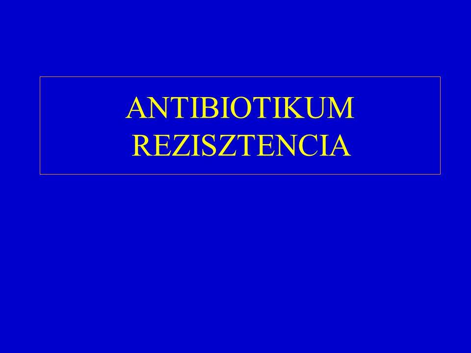 ANTIBIOTIKUM REZISZTENCIA