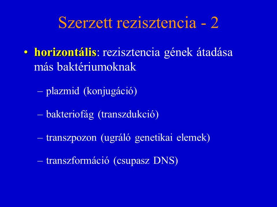 Szerzett rezisztencia - 2