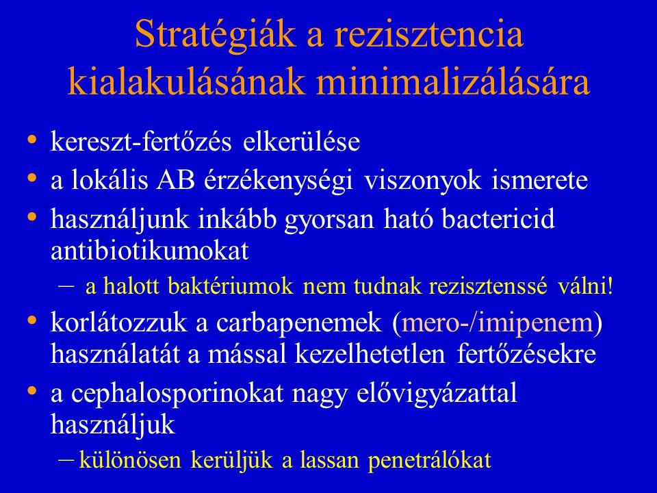 Stratégiák a rezisztencia kialakulásának minimalizálására