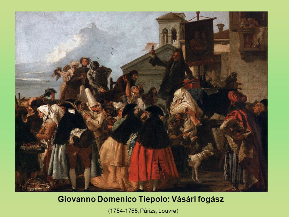 Giovanno Domenico Tiepolo: Vásári fogász