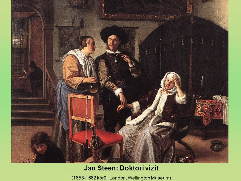 Jan Steen: Doktori vizit
