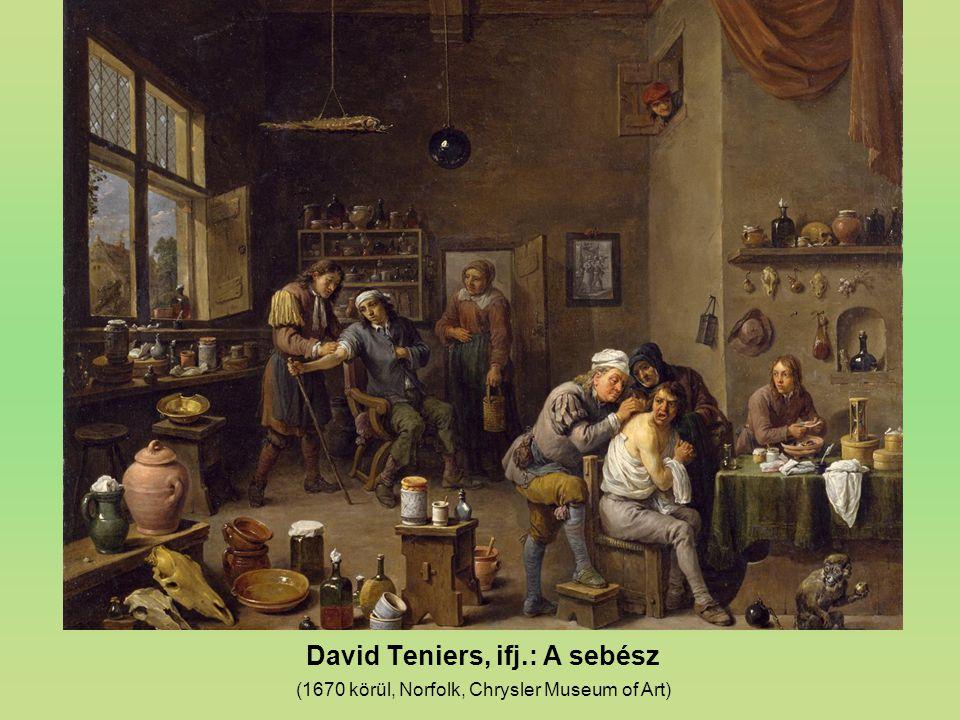 David Teniers, ifj.: A sebész