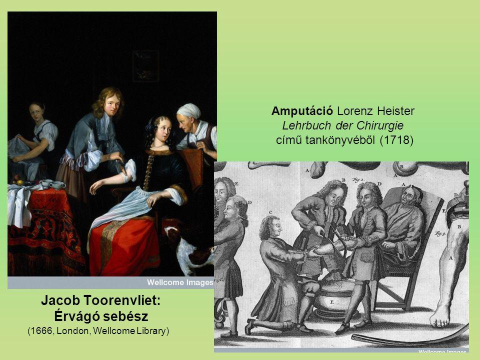 Jacob Toorenvliet: Érvágó sebész
