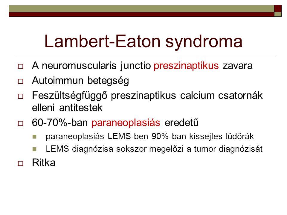 Lambert-Eaton syndroma