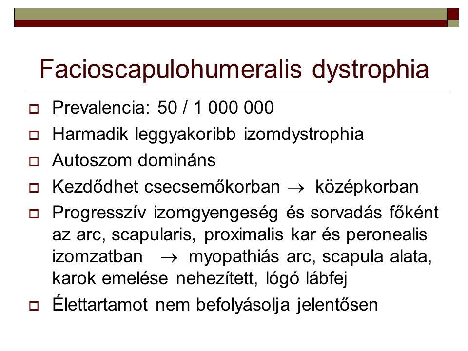 Facioscapulohumeralis dystrophia