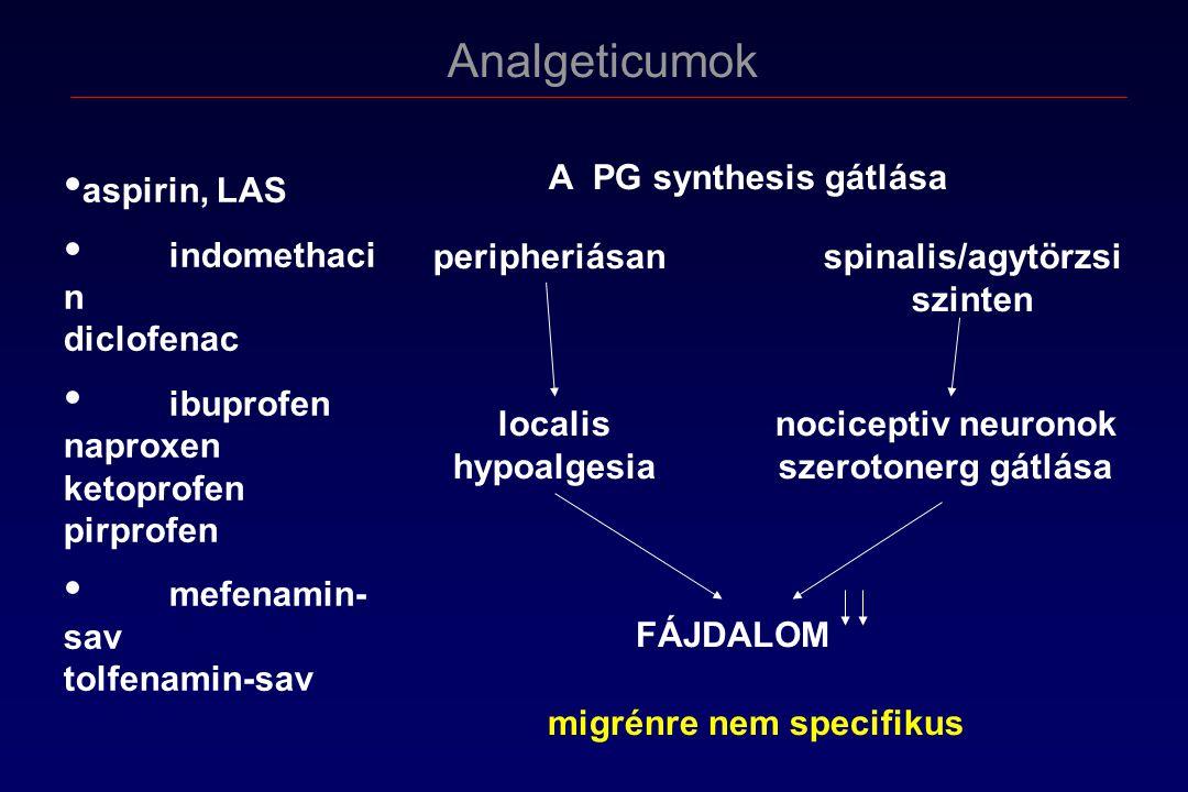 spinalis/agytörzsi szinten